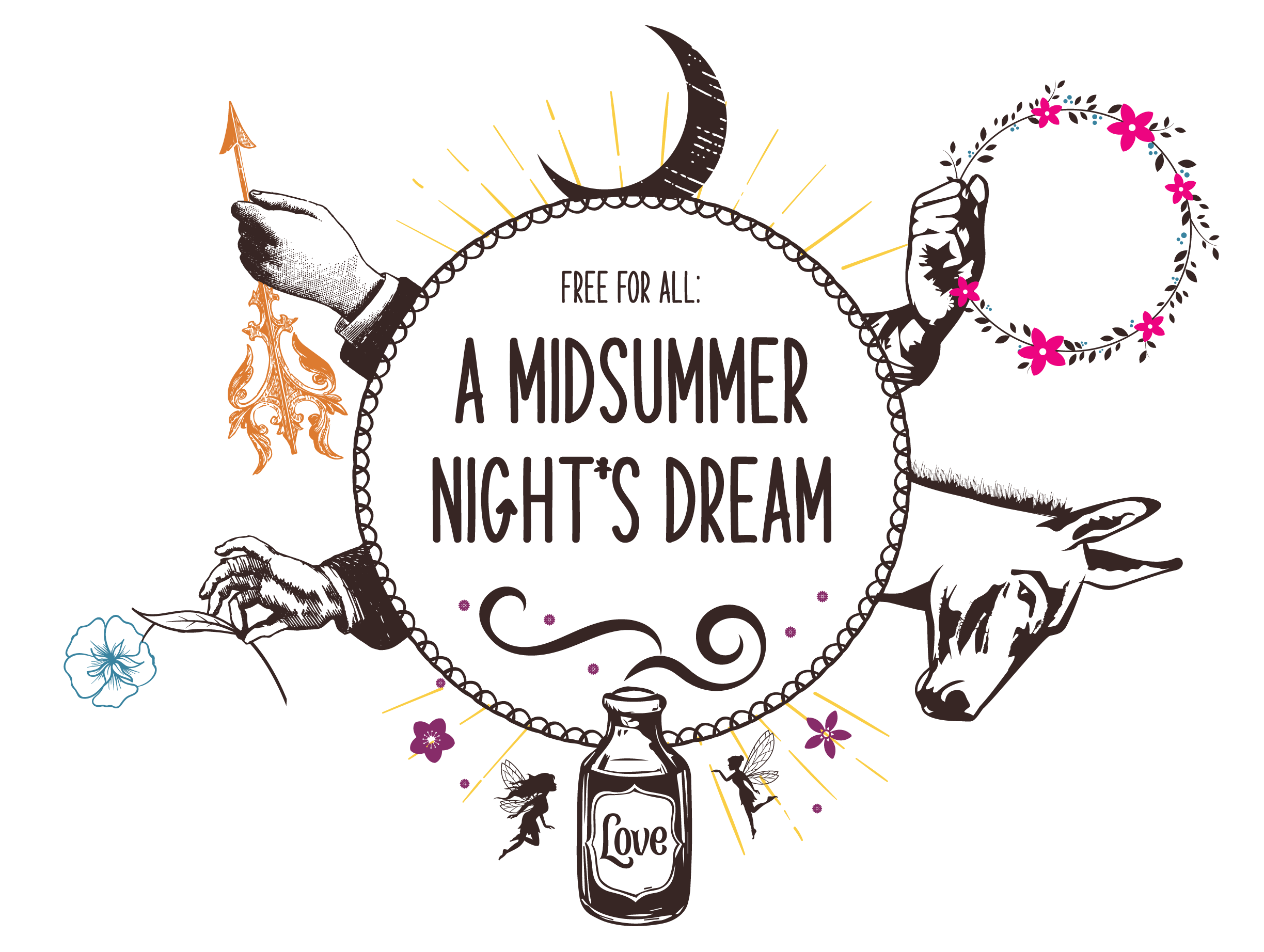 Free-for-All: Midsummer Night's Dream Play logo